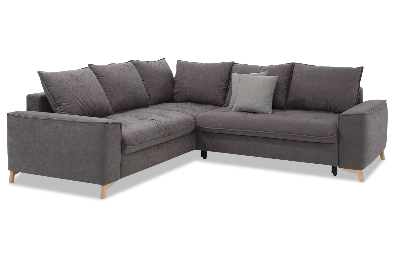 Castello Ecksofa XL Molina links - Anthrazit