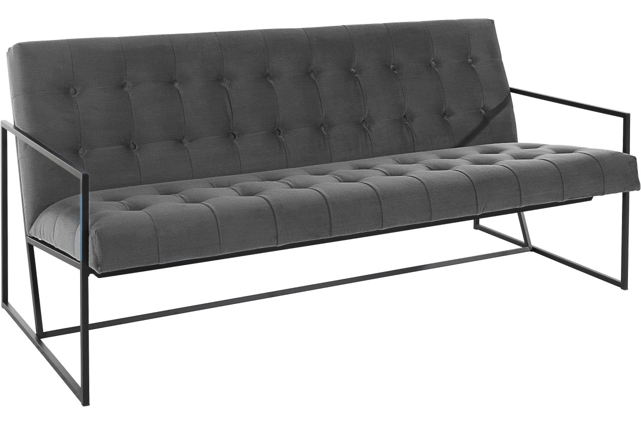 Atlantic Collection 2er-Sofa Lounge Style - Anthrazit