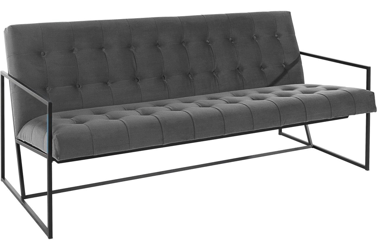 Atlantic Collection 2er-Sofa Lounge Style - Anthrazit