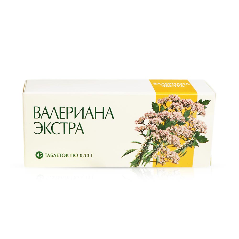Baldrianextrakt - Extra, 45 Tabletten
